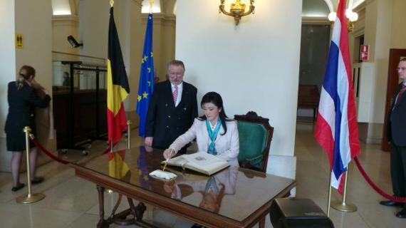 y-Belgian Parliament
