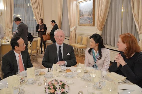 y-Belgian Senate  gala dinner