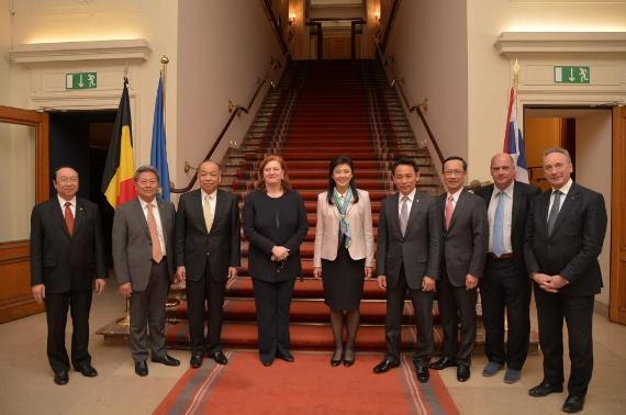 y-Belgian Senate