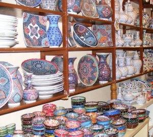 Istanbul Ceramic Grand Bazaar Turkey