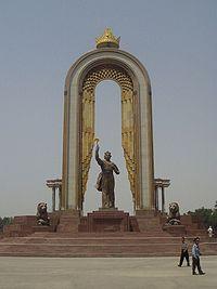 Duschanbe_Somonidenkmal