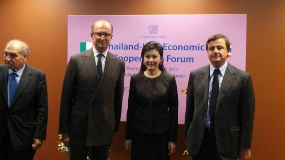 Thailand-Italy Economic Cooperation