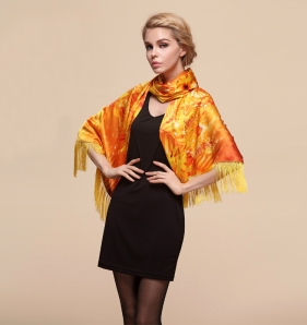 Gold-floral-Chinese -fashion