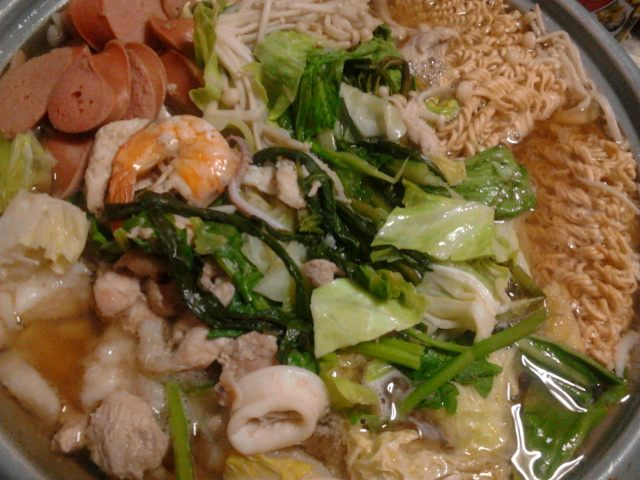 SeafoodSoba Soup