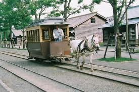 Historic Village Kaitaku no Mura Hokkaido Japan