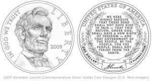 2009-Abraham-Lincoln-Silver-Dollar