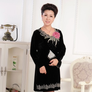 velvet-Long-dresses